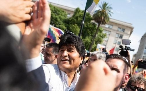 Evo Morales, con agenda recargada