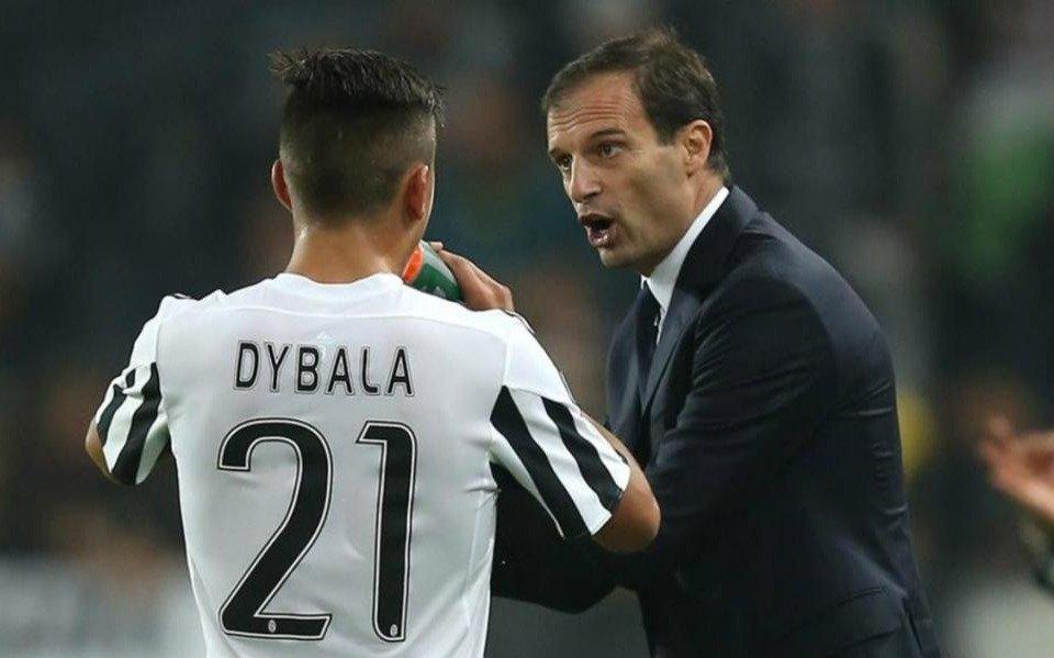 Una pelea que da mucho que hablar entre Dybala y el DT de la Juventus