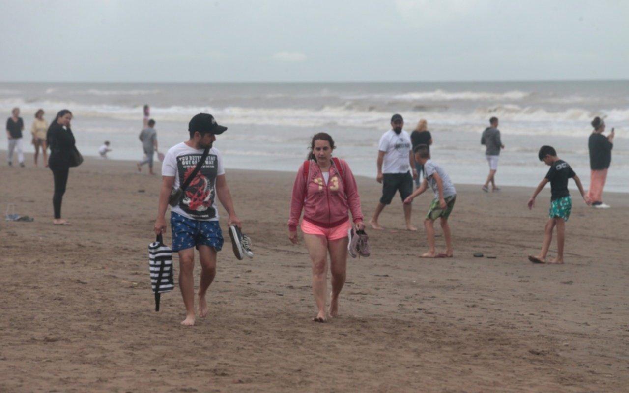 EL DIA en la Costa: a sacar piloto y paraguas porque se viene abundante lluvia en Mardel