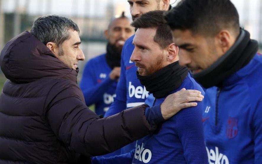 El mensaje de Messi a Valverde: ¿qué le dijo al ahora ex DT del Barcelona?
