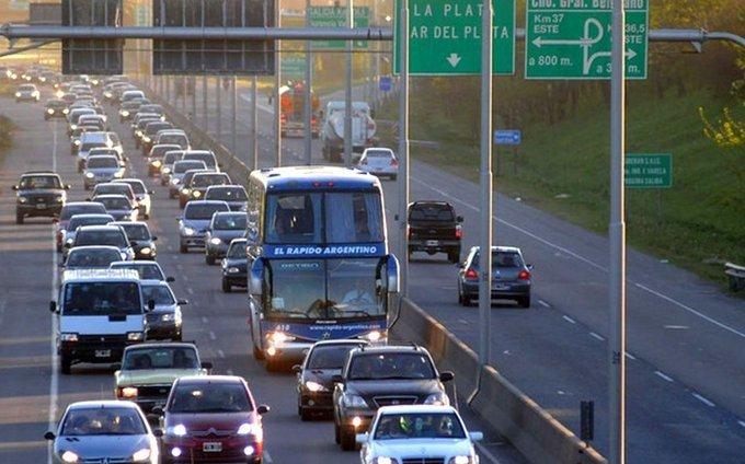 Por recambio turístico, regirá restricción de tránsito a camiones en rutas bonaerenses