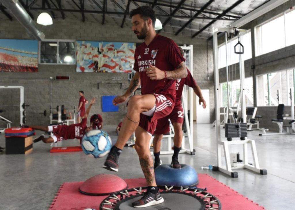 River ya está enfocado en el partido con Independiente