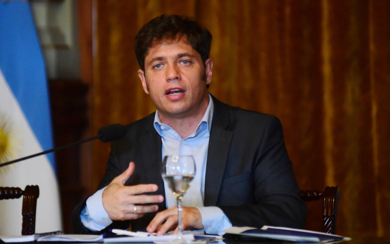 Kicillof volvió a apuntar al macrismo por la situación financiera de la Provincia