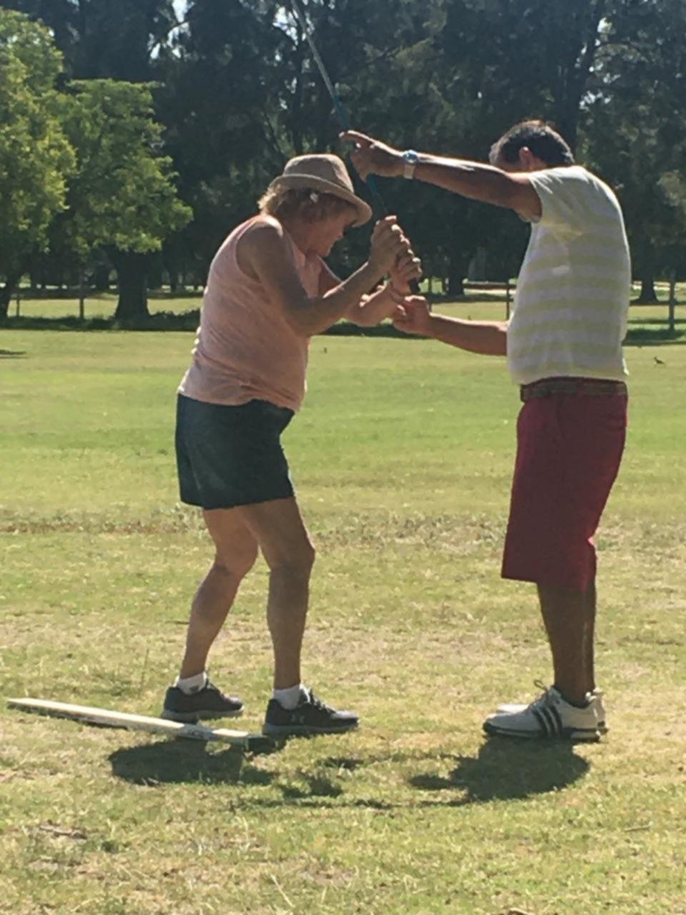 Hacen las primeras armas para iniciarse en el golf