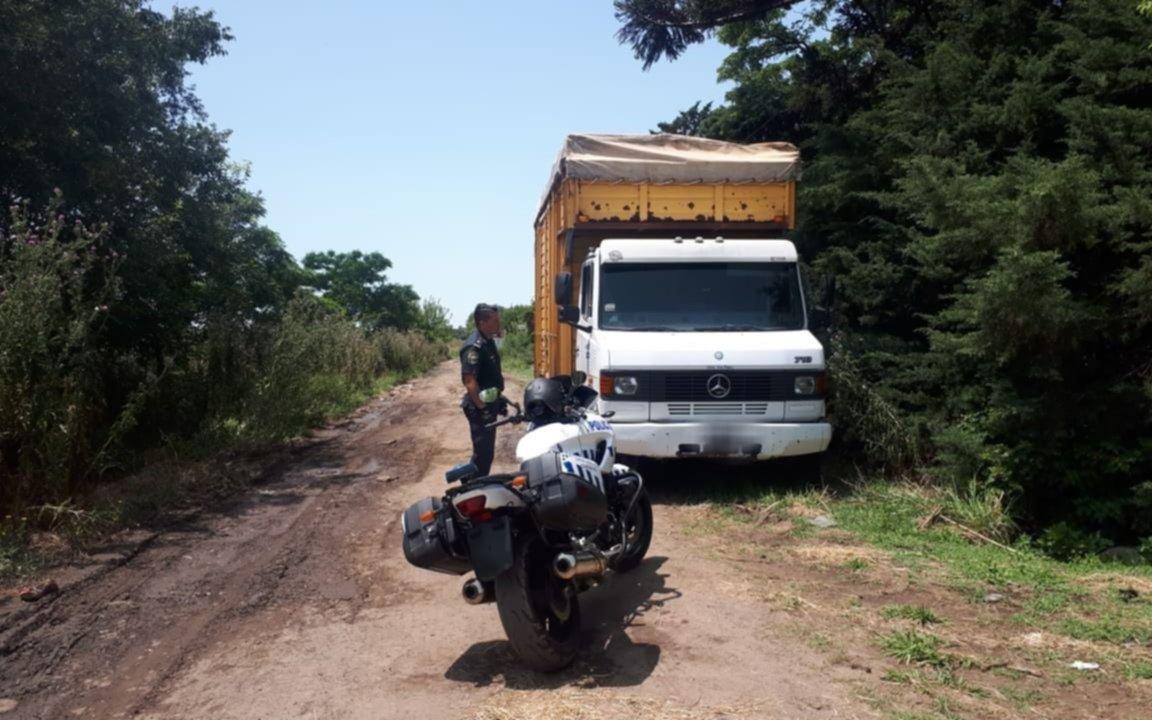 En una quinta de La Plata guardaban un millonario botín de varios robos