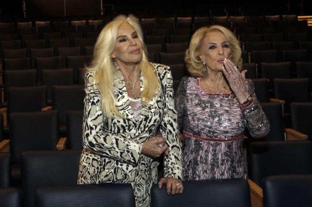 Mirtha y Susana, juntas, llevaron todo su glamour a Mar del Plata