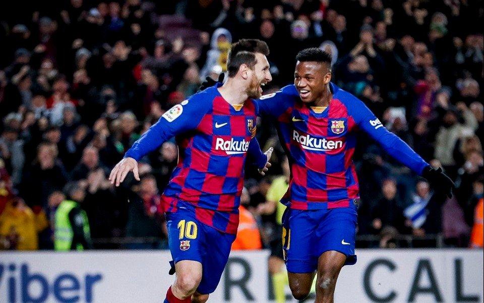 Barcelona venció a Granada con un gol de Messi en el debut del técnico Setién