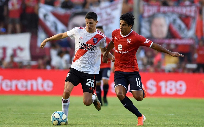 River venció a Independiente en Avellaneda y accedió a la punta de la Superliga