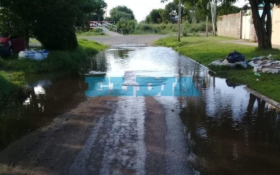 Incesante pérdida de agua desde hace más de un mes en Tolosa
