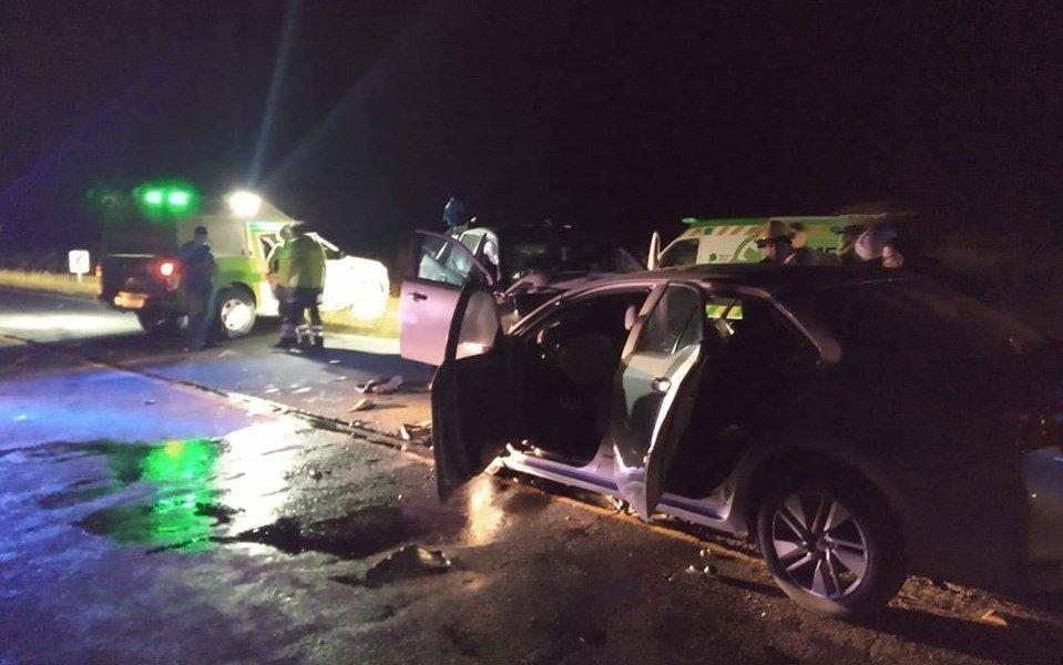 Tragedia en Pinamar: tres muertos al chocar un auto y una camioneta en la ruta 11