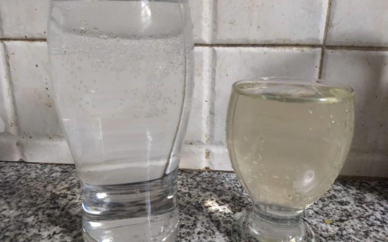 Otro problema de canillas: agua  turbia en 65, 11 y 12