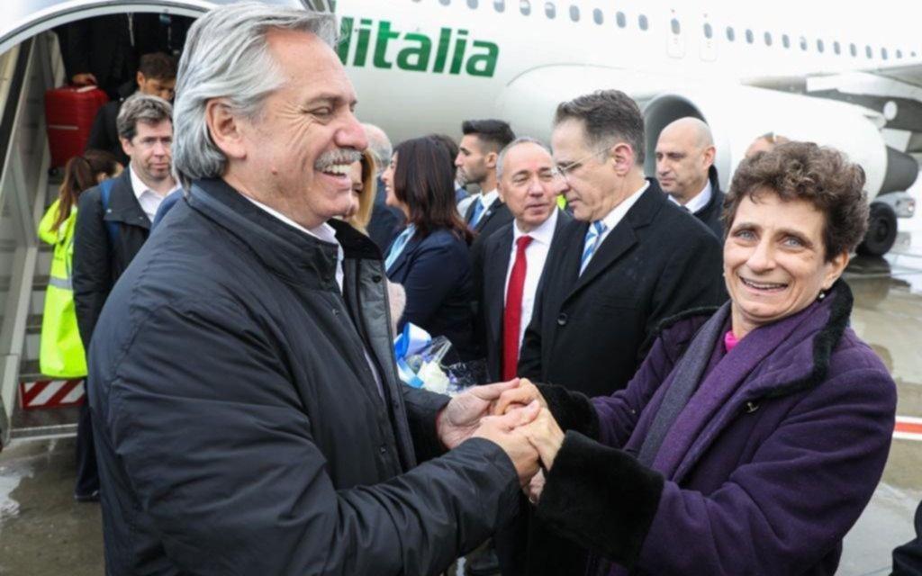 El Presidente arribó a Israel y fue recibido por su colega local