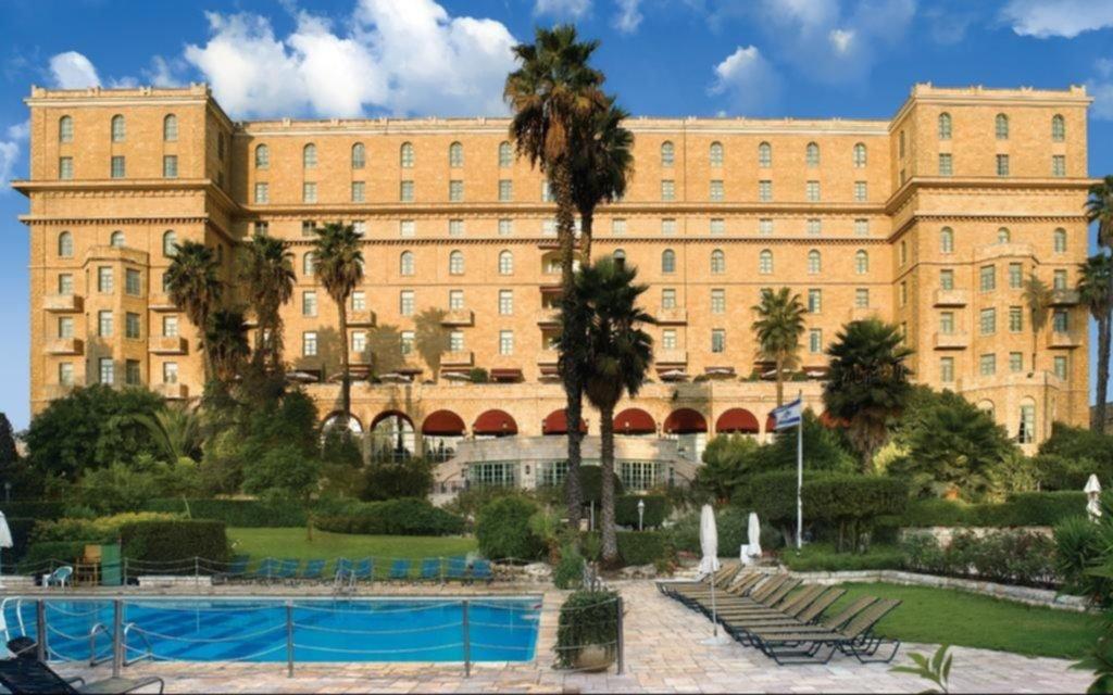 La historia del hotel donde se hospeda Fernández, símbolo de la época colonial de Jerusalén
