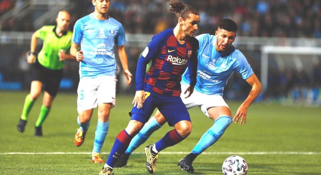 "Barcelona, sin Lionel Messi, se salvó del ""papelón"""