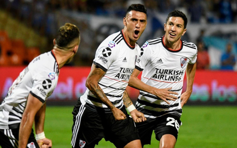 River venció a Godoy Cruz y se afirma en la punta de la Superliga