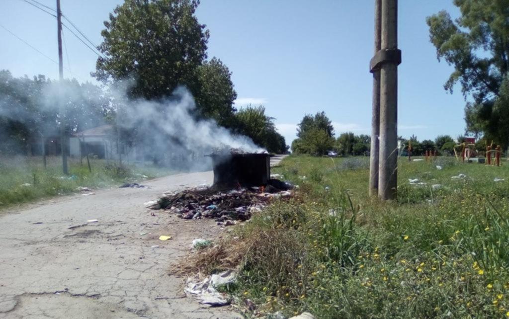"""Barrios de la periferia, en """"modo humo"""" por la quema de residuos"""