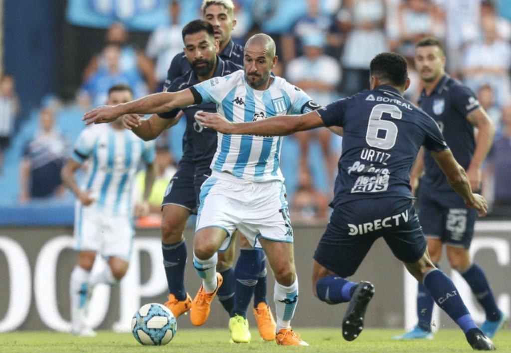 Racing no pasó del empate con Atlético Tucumán en el debut de Beccacece como entrenador
