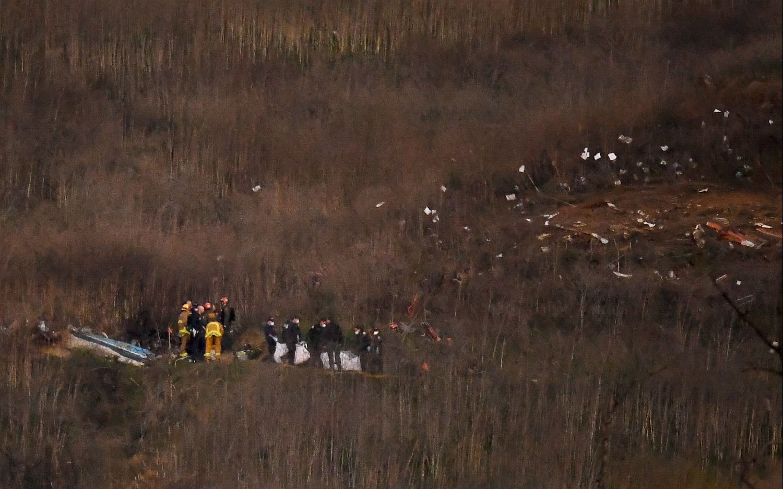 Identificaron a todas las víctimas que fallecieron junto a Kobe Bryant en el accidente aéreo