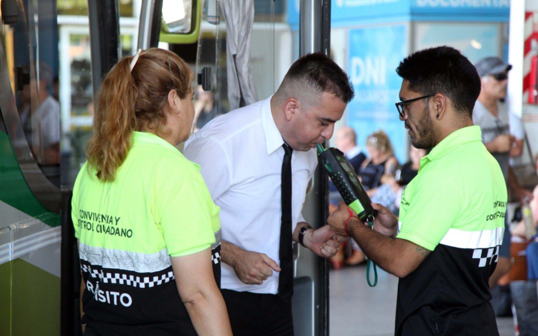 Intensifican los controles al transporte de pasajeros en la Terminal