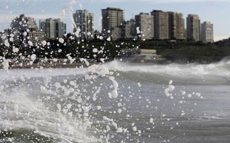 Rige un alerta meteorológico por fuertes vientos en Mar del Plata