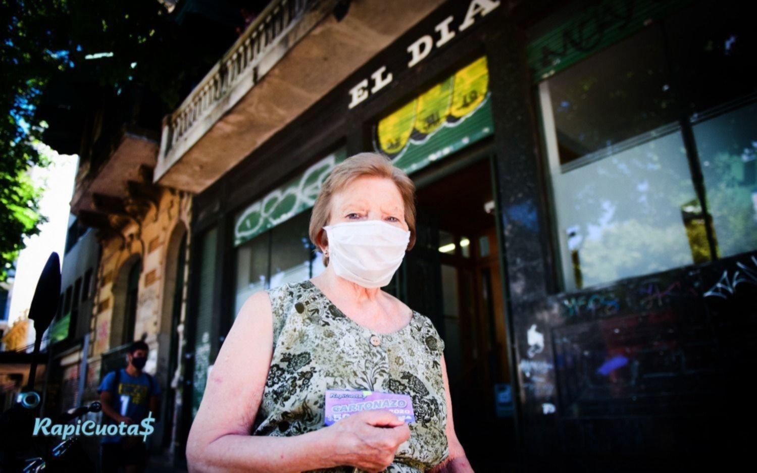 Una lectora de 85 años se quedó con el cuarto de millón de pesos del Cartonazo