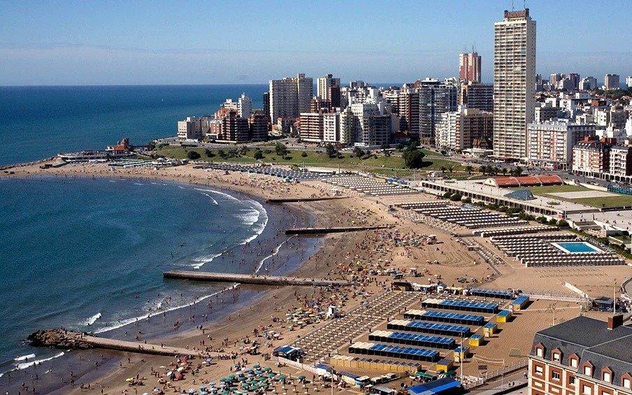 Piden un refulado para agrandar las playas de Mar del Plata como hace dos décadas
