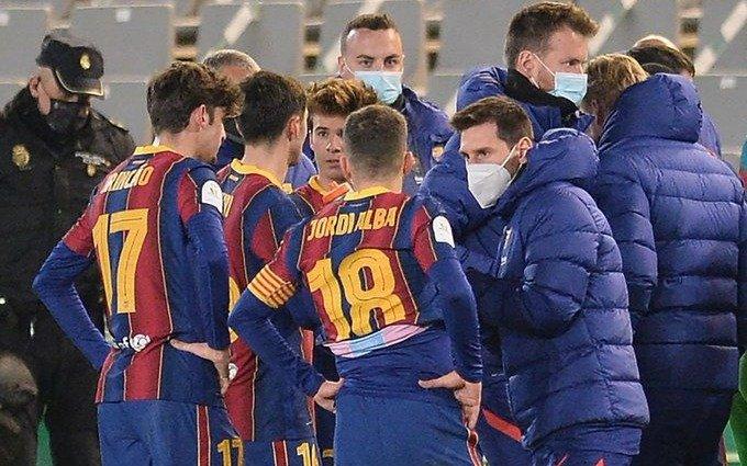 Barcelona, sin Messi en cancha, avanzó a la final de la Supercopa de España