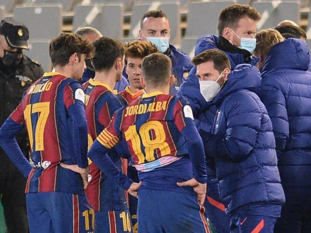 Barcelona, sin Messi, avanzó a la final gracias al Código Penal
