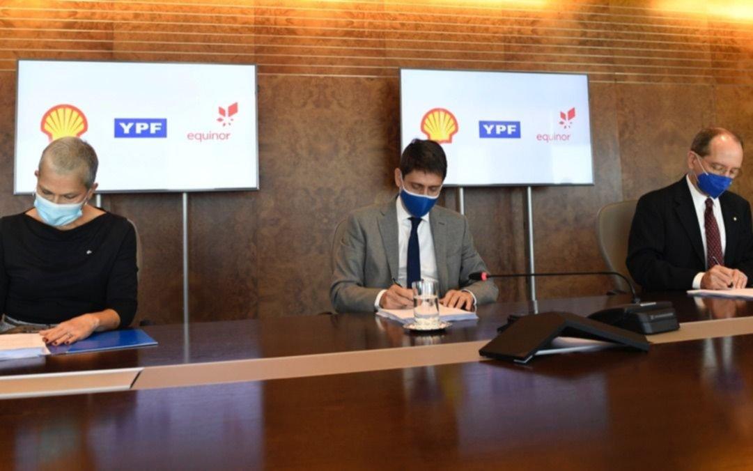 YPF acuerda sociedad con Shell en un bloque de la cuenca norte del Mar Argentino