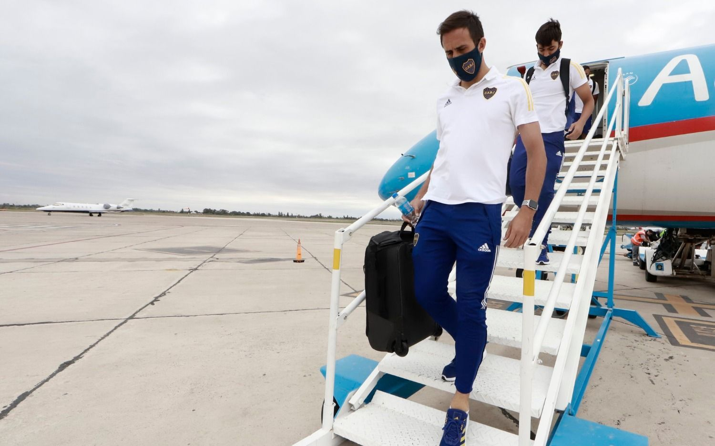 Boca se instaló en San Juan sin Carlos Tévez
