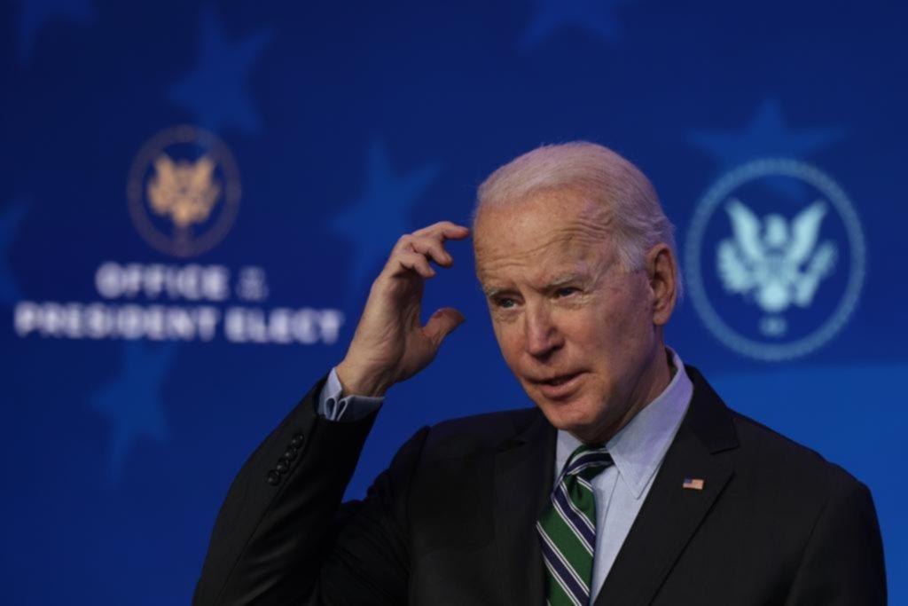 Biden, ante enormes desafíos y frentes a los que atender
