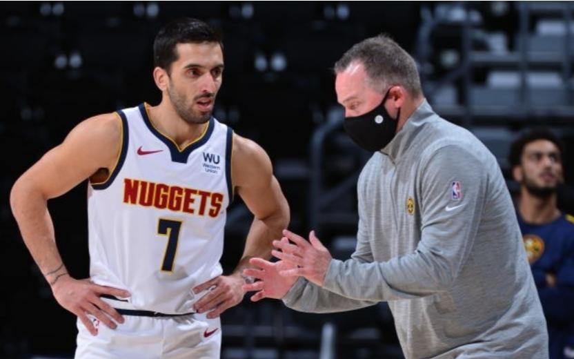Lo que dijo el entrenador de Denver Nuggets sobre Facundo Campazzo