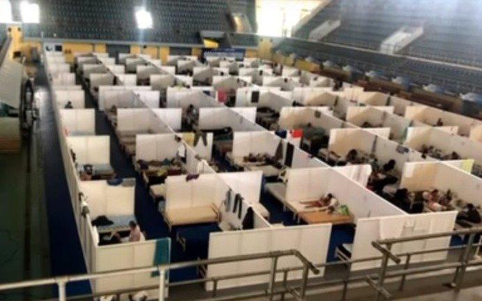 """""""Condiciones inhumanas"""": denunciaron un centro de atención de COVID de Formosa por hacinamiento"""