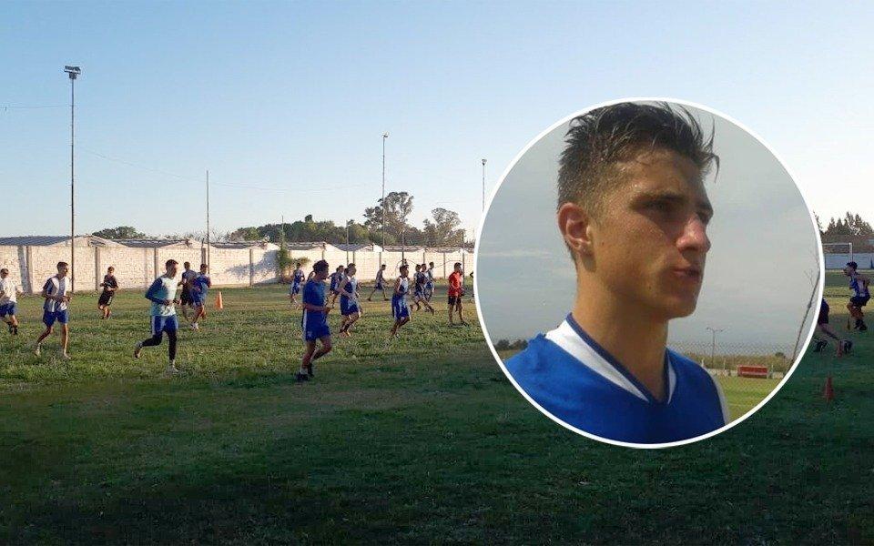 Falleció de un infarto un jugador de la Liga Amateur Platense tras una práctica: tenía 22 años y era hijo de Cristian Guaita