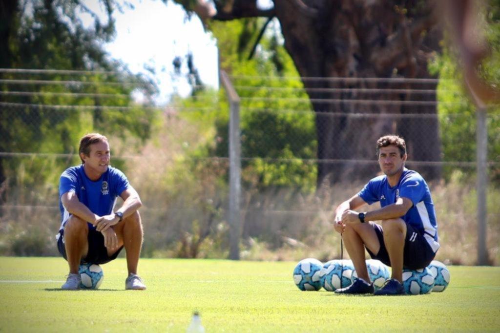 Con las presencias de Broun y Goltz, más otros 29 jugadores, el Lobo volvió a Estancia Chica