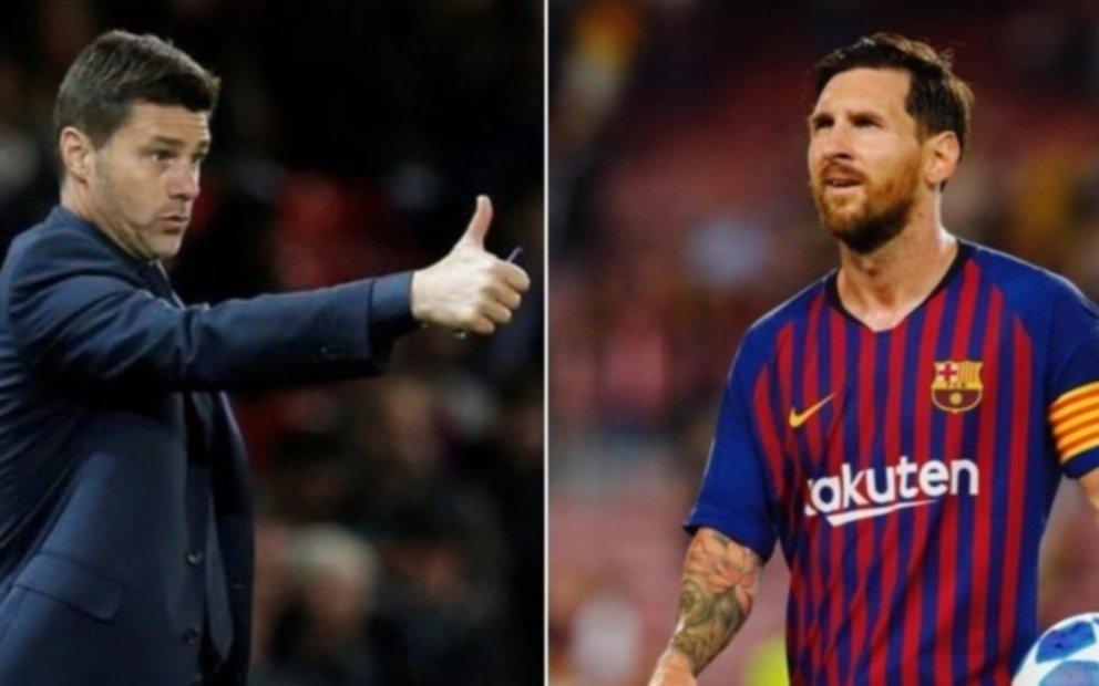 ¿Qué dijo?: Mauricio Pochettino también habló del pase de Messi al PSG