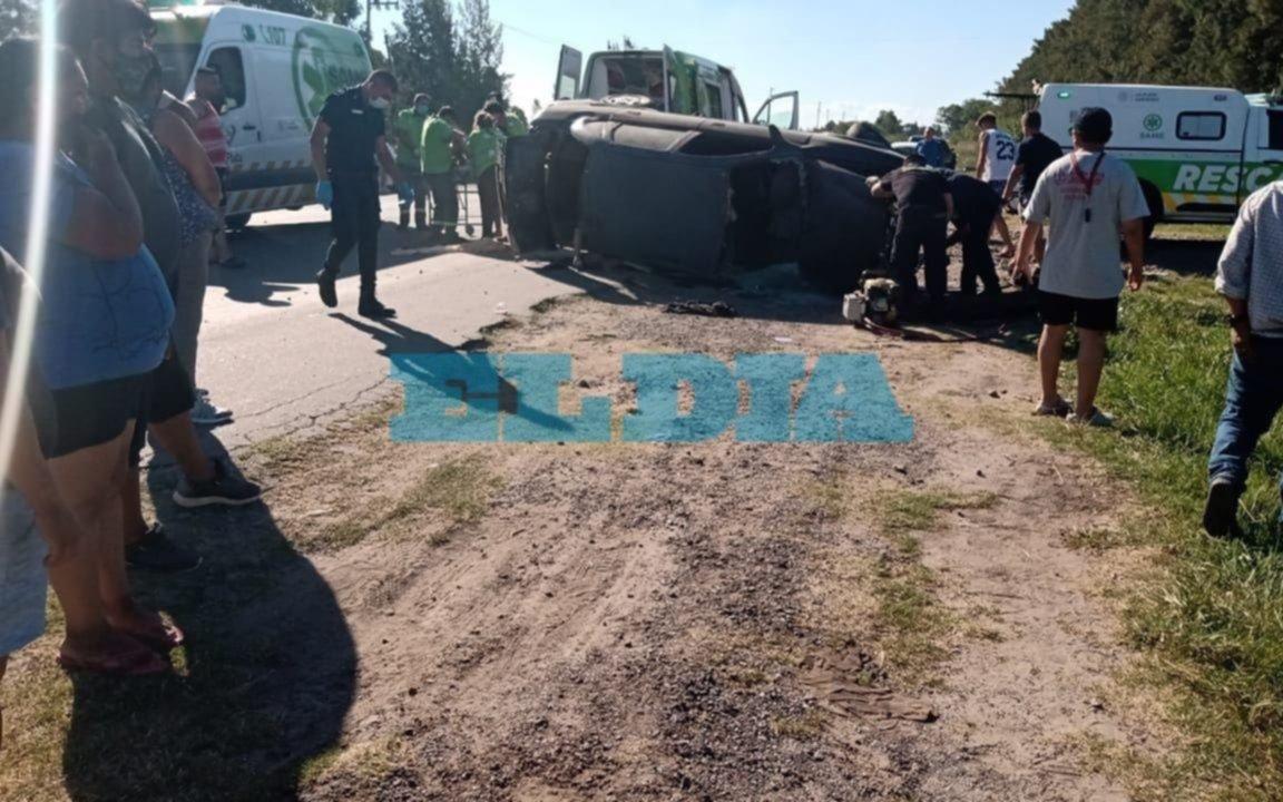 Otro choque frontal en la Ruta 36 y una nueva víctima fatal