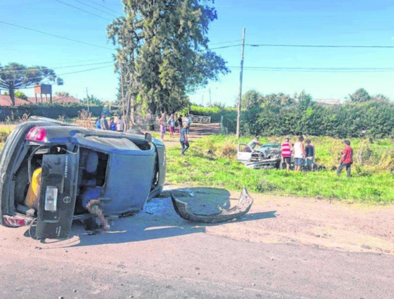 Un choque entre dos autos en la ruta 36 dejó como saldo un muerto y seis heridos