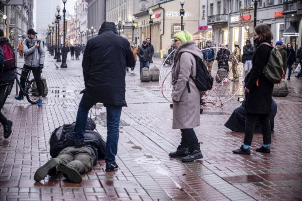 Rusia acusó a EE UU de apoyar las protestas opositoras