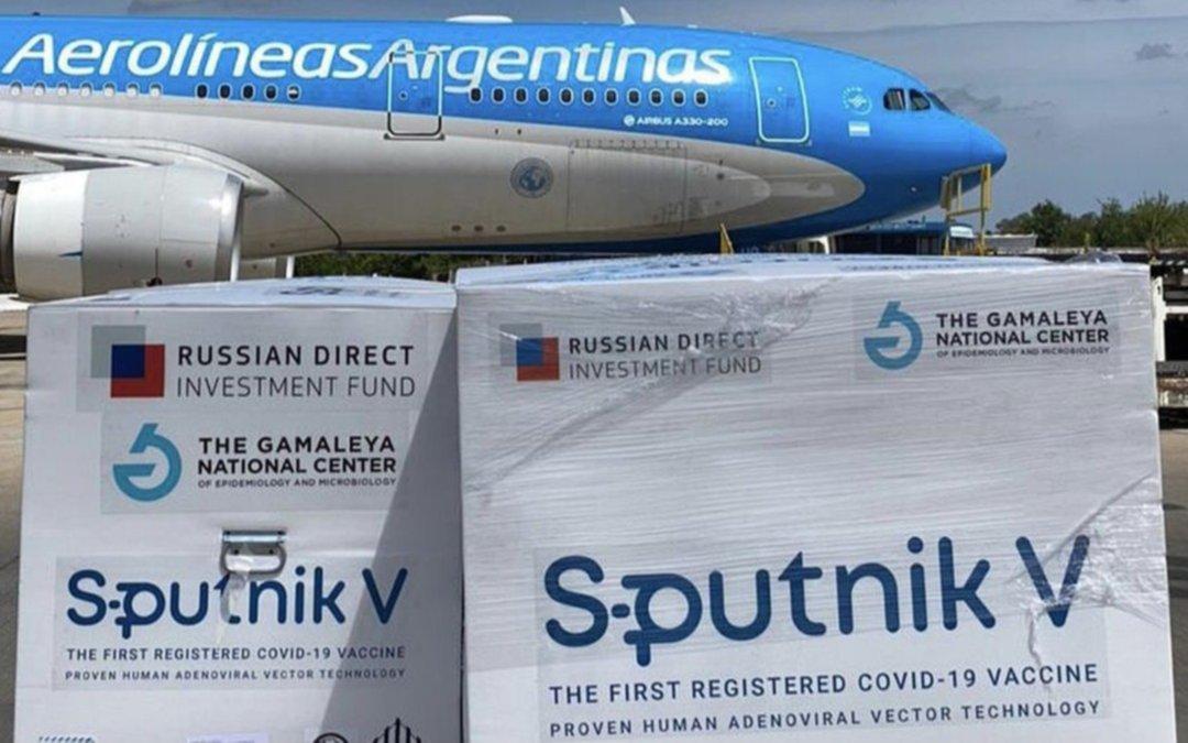 Confirmado: el tercer vuelo a Rusia en busca de vacunas saldrá hoy a las 21 horas