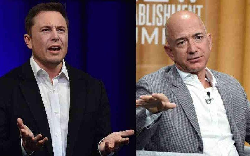 Elon Musk vs. Jeff Bezos: la guerra espacial de los billonarios