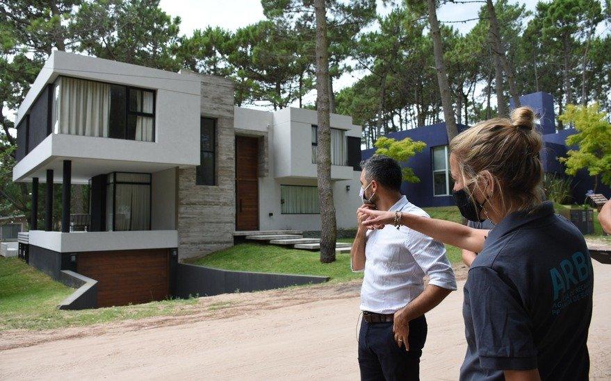 Detectaron más de 300.000 m² sin declarar en zonas exclusivas de Pinamar y Mar del Plata