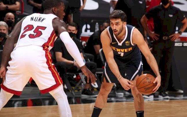 Campazzo muy activo en la importante victoria de Denver Nuggets en la NBA
