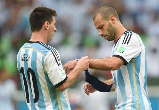 "Mascherano: ""Messi es el mejor de la historia"""