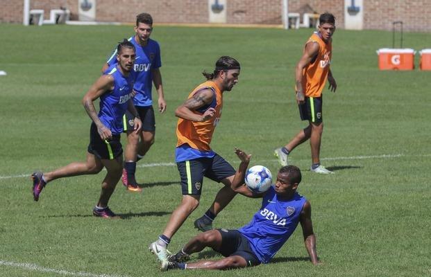 """Tras dos días de furia, Boca entrenó con """"aparente paz"""""""