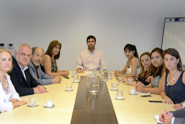 Basavilbaso se reunió con un grupo de diputados de la oposición