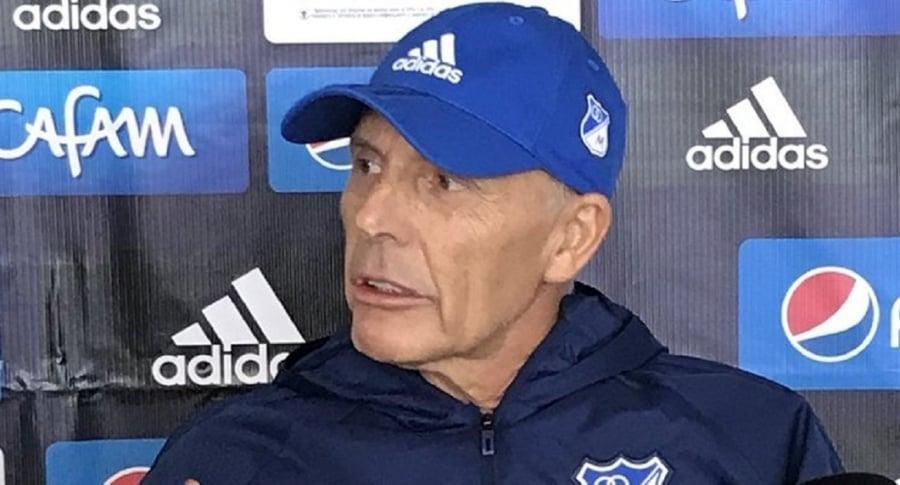 Russo será dado de alta el martes y dirigirá ante Atlético Nacional
