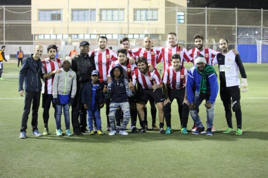 Otro exitoso partido benéfico de la filial de Estudiantes en Tel Aviv