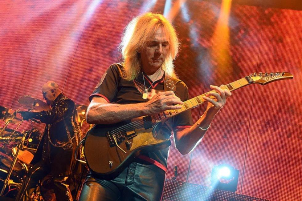 Mal de Parkinson: la enfermedad sigue atacando al rock: ahora, Glenn Tipton