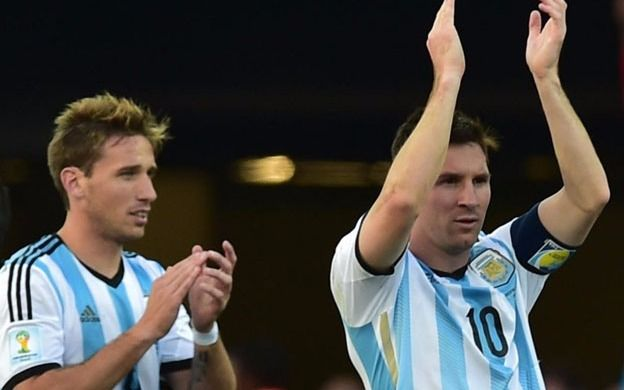 "Biglia: ""Nos acostumbramos a depender de Messi"""